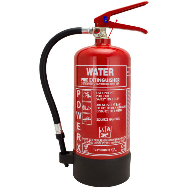 3L Water With Additive Fire Extinguisher