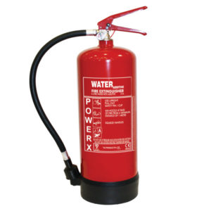 6L Water With Additive Fire Extinguisher