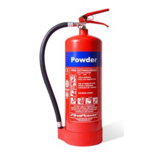 firepower 9kg powder fire extinguisher