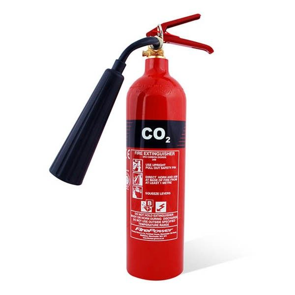 firepower 2kg co2 fire extinguisher