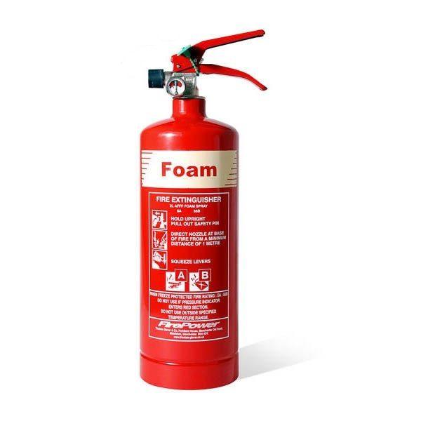 firepower 2l foam fire extinguisher