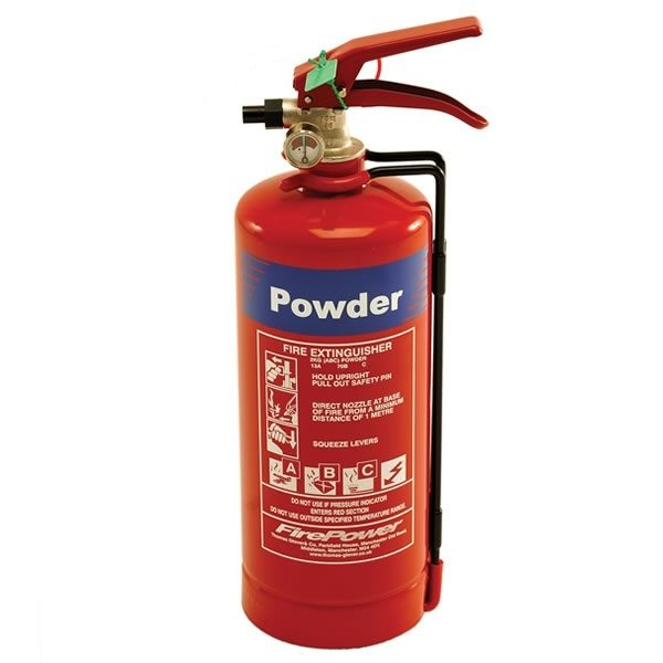firepower 2kg powder fire extinguisher