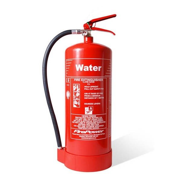 firepower 9l water fire extinguisher