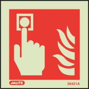 Fire Alarm Location Safety Sign