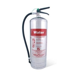 Chrome 6L Water Fire Extinguisher