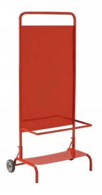 Wheeled Site Stand for Extinguishers
